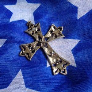Jewelry - Cross Necklace Dangle Charm Pendant Jewelry
